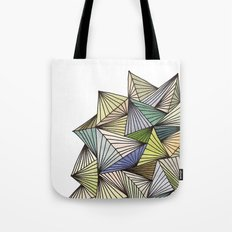 Green Spikes Tote Bag