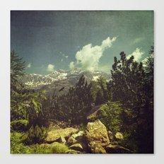 Italian Mountains Canvas Print