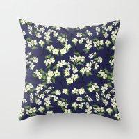 April Blooms(Dogwoods_bl… Throw Pillow