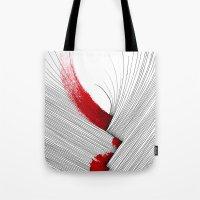 Impact (white version) Tote Bag
