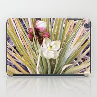 Yucca Flowers In Bloom iPad Case