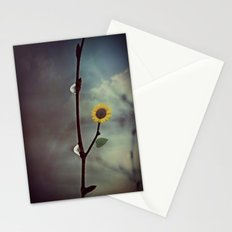 Raindrops & Sunflowers Stationery Cards