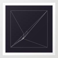 #115 Rip – Geometry Da… Art Print