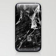 Marble Black iPhone & iPod Skin