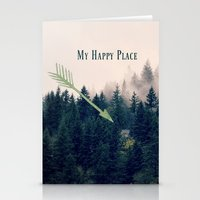 My Happy Place Stationery Cards