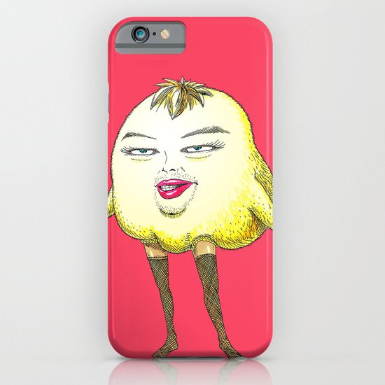 ugly angry angry baby bird iPhone & iPod Case