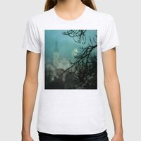 Silent Night Womens Fitted Tee Ash Grey SMALL