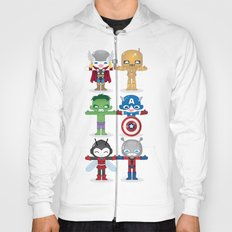 THE ORIGINAL AVENGER'S ROBOTICS Hoody