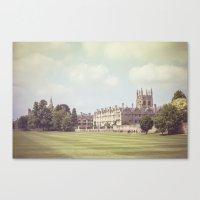 Oxford College Canvas Print