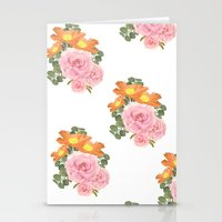 Summer Floral Print Stationery Cards