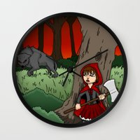 Little Red Riding Hood V… Wall Clock