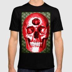 Third Eye Bones (Paisley Edition) Mens Fitted Tee SMALL Black