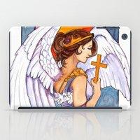 Giovanna - Art Nouveau Angel iPad Case