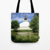 Peace Pagoda Tote Bag