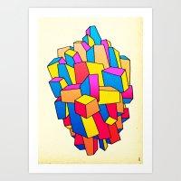 - summer Stadt - Art Print