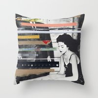 I'm Scared Throw Pillow