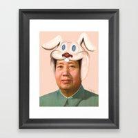 Rab Mao Babe Framed Art Print
