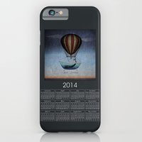2014 Calendar  - Whales iPhone 6 Slim Case