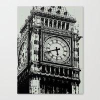 Big Ben 2 - London Series Canvas Print