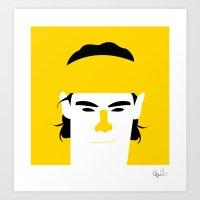 Rafael Nadal Parera Art Print