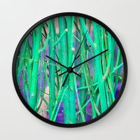 NATURAL DE-FENCE Wall Clock