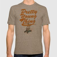 P.Y.T Mens Fitted Tee Tri-Coffee SMALL
