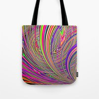 Re-Created  Hurricane 8 by Robert S. Lee Tote Bag