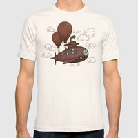 The Fantastic Voyage Mens Fitted Tee Natural SMALL