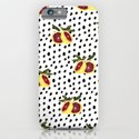 Blood Orange and Dots iPhone & iPod Case
