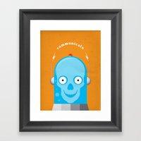 Communicate Framed Art Print
