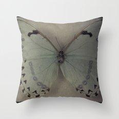 Papillon _ Vintage Flutter Throw Pillow