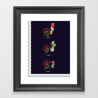 Christmas Card - Presents Framed Art Print