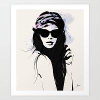 Infatuation - Digital Fa… Art Print