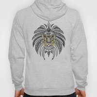 Whimsical Tribal Lion Hoody