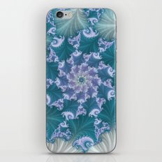 floral abstract background iPhone & iPod Skin