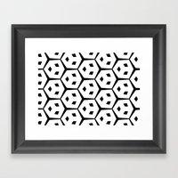 Van Trijp Black & White … Framed Art Print