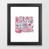 Ol' Doodle Framed Art Print