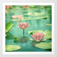 Dancing In Stillness Art Print