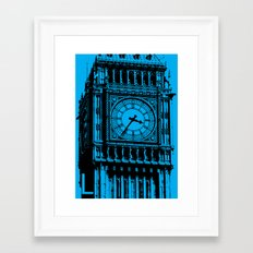 London L Framed Art Print