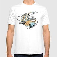 Noodlee Mens Fitted Tee White SMALL