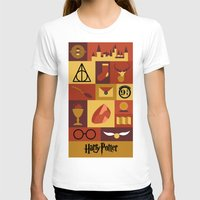 harry potter T-shirts featuring Potter by Polvo