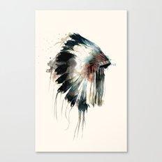 Headdress Canvas Print