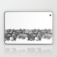 Zebra Print Laptop & iPad Skin