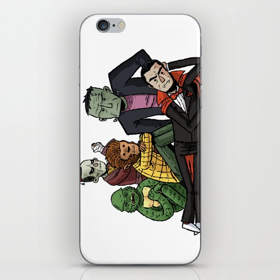 The Universal Monster Club iPhone & iPod Skin