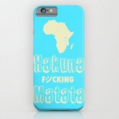 Hakuna Matata Africa iPhone 6s Slim Case