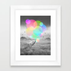 The Echoes of Silence Framed Art Print