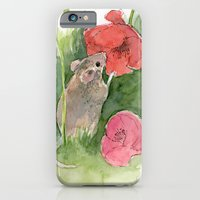 iPhone & iPod Case featuring Fieldmouse by Julia Marshall