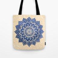 ókshirahm Sky Mandala Tote Bag