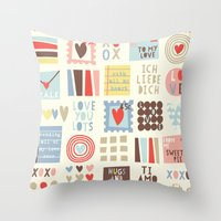 Sweetie Darling Throw Pillow