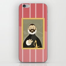 Nobleman with his Hand on his Chest by Greco iPhone & iPod Skin